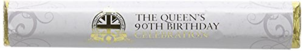 House Of Dorchester The Queens 90th Birthday Celebration Fine Milk Chocolate Bar 85g