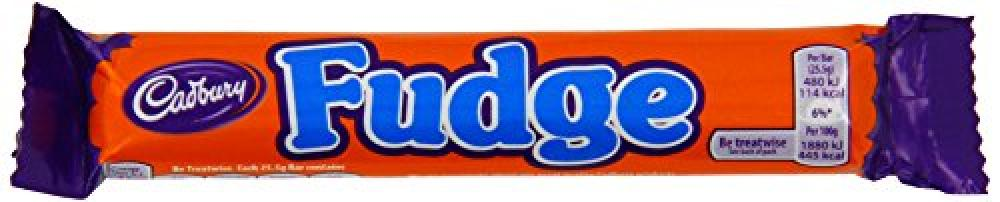 Cadbury Fudge Chocolate Bar 25g
