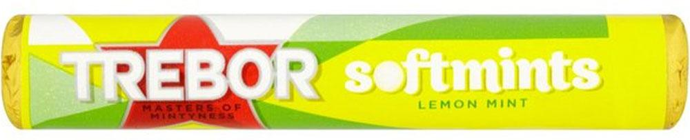 Trebor Lemon Softmints 44.9g