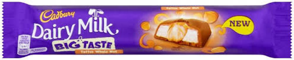 Cadbury Dairy Milk Big Taste Toffee Whole Nut 43g