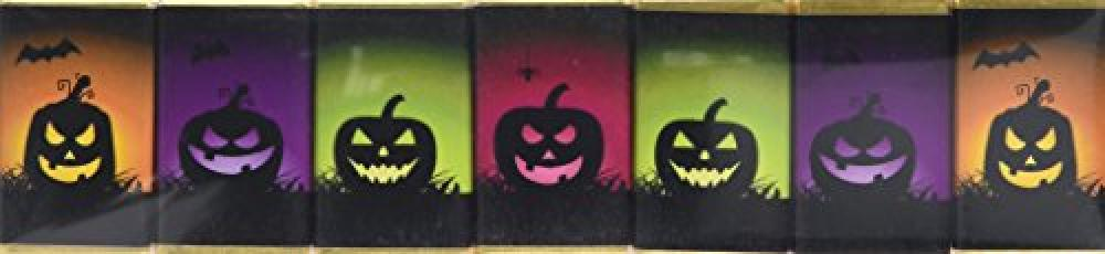 House Of Dorchester Seven Coloured Pumpkins Chocolate Slims 70g