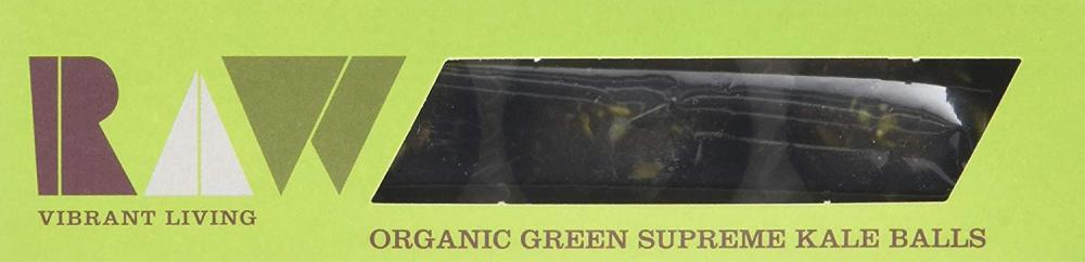 Raw Health Organic Green Supreme Kale Balls 60g