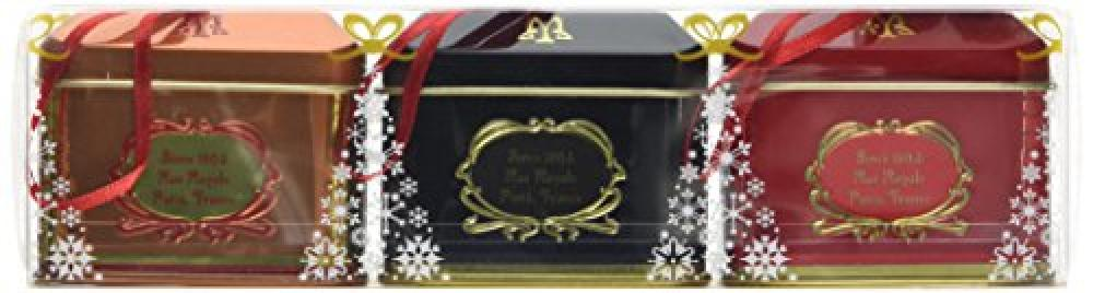 Maxims de Paris Gift set of Design Small House Roof Tin with Chocolates 54g