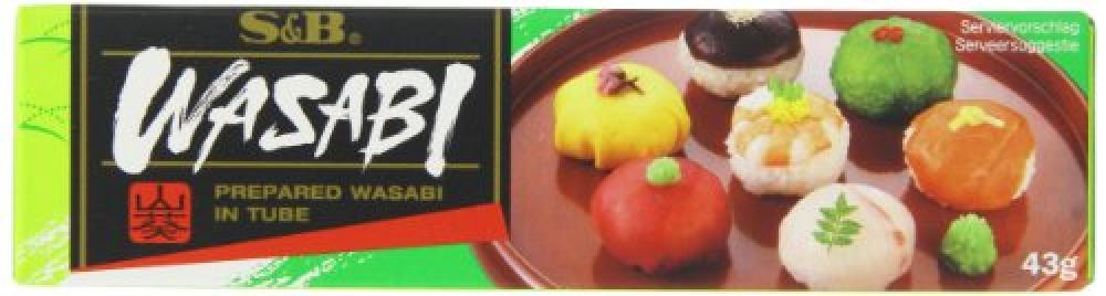 S and B Wasabi Paste 43g