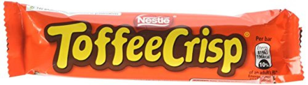 Nestle Toffee Crisp Bar 38 g