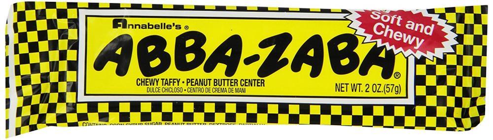 Abba-Zabba Chewy Taffy Peanut Butter Bar 57g