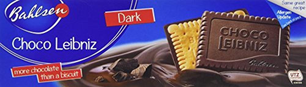 Bahlsen Choco Leibniz Dark Chocolate Cover Biscuits 125g