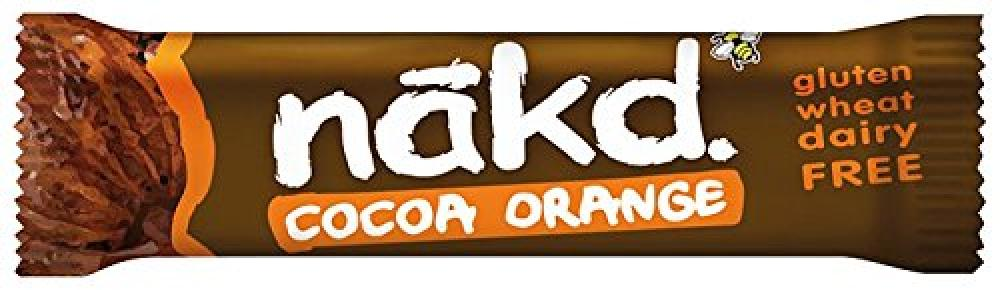 Nakd Cocoa Orange Gluten Free Bar 35 g