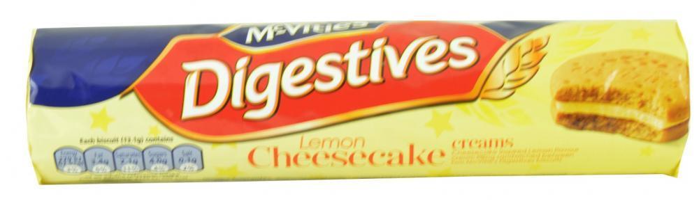 McVities Digestives Lemon Cheesecake Creams 168g