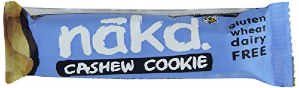 Nakd Cashew Cookie Gluten Free Bar 35 g