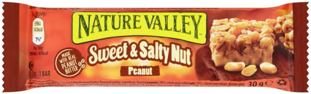 Nature Valley Sweet and Nutty Peanut Bar 30g