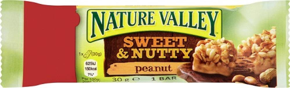 Nature Valley Sweet and Nutty Peanut Bar 30g 30g