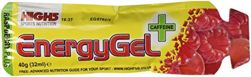 High 5 Sports Nutrition Raspberry Plus Caffeine 40 g