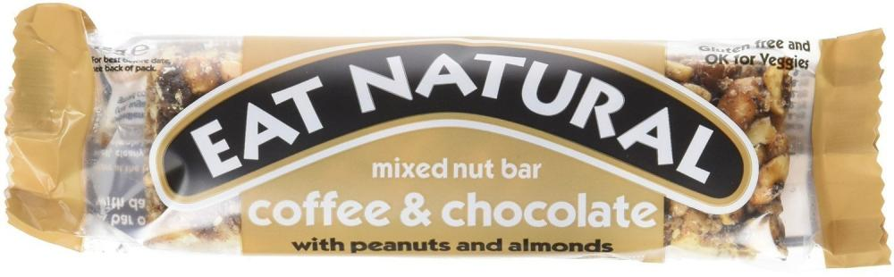 Eat Natural Coffee and Chocolate Bar 45g