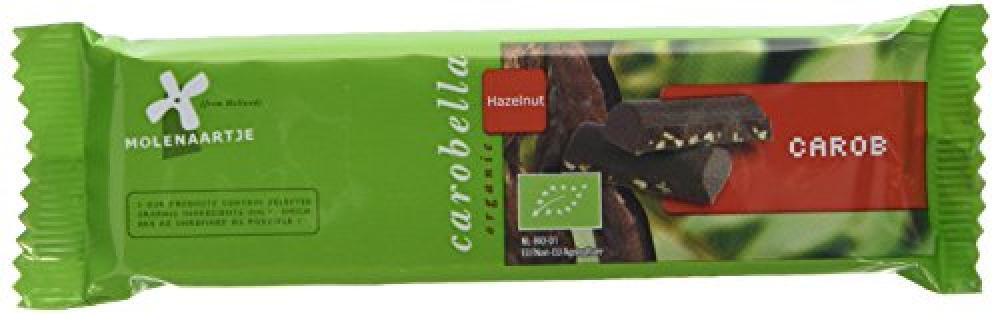 Molenaartje Carobella Milk Chocolate Hazelnut Organic Bar 50 g