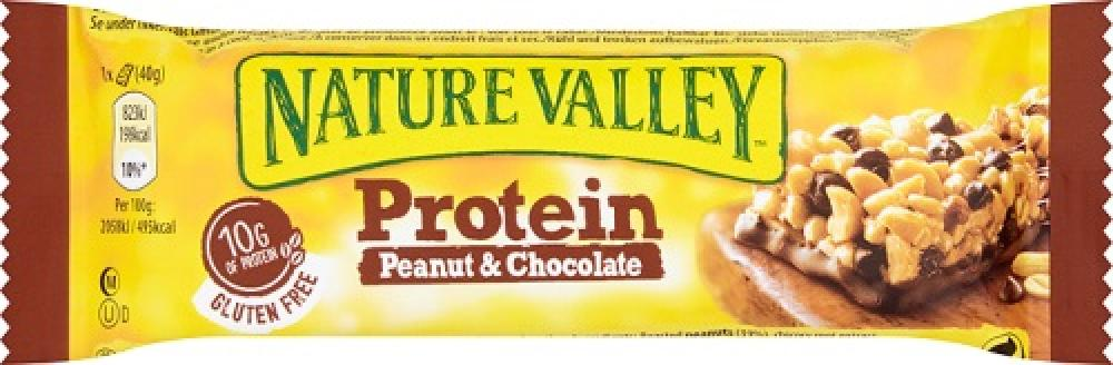 Nature Valley Nature Valley Nature Valley Protein Peanut and Chocolate 40g 40g 40g 40g