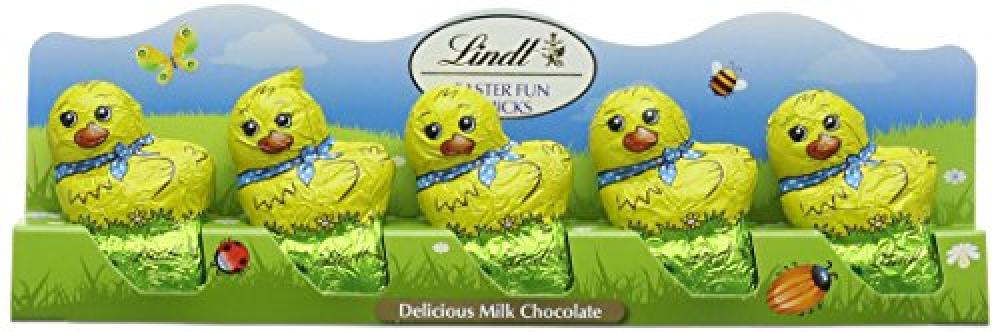 Lindt Fun Chicks Delicious Milk Chocolate 50g