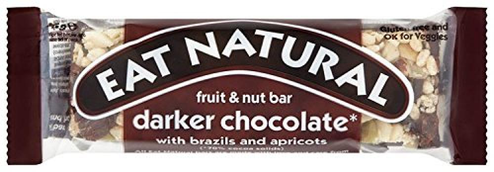 Eat Natural Dark 70 Percent Chocolate Almonds and Apricots 45g