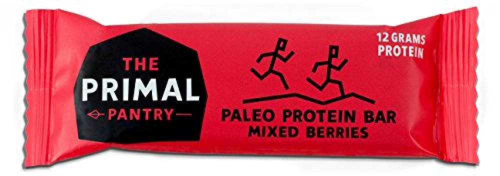 The Primal Pantry Paleo Protein Bar Mixed Berries 55g