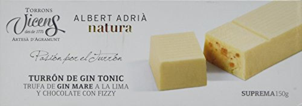 Vicens Gin Tonic Nougat 150g