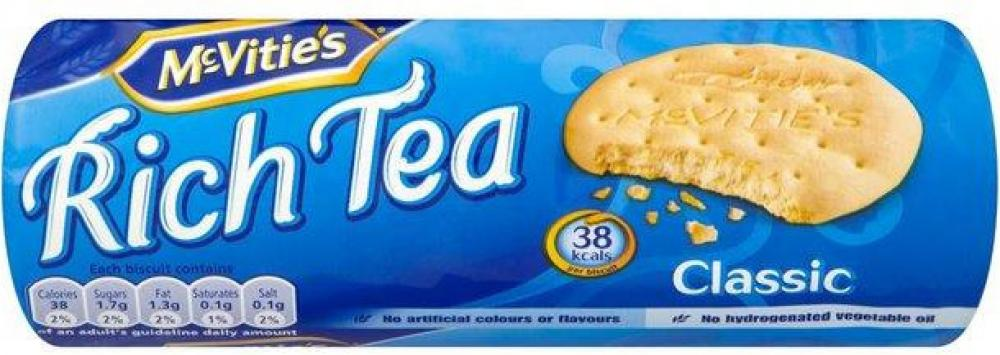 CLEARANCE  McVities Rich Tea 200g