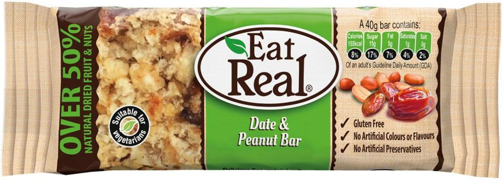 Eat Real Date and Peanut Bar 40g