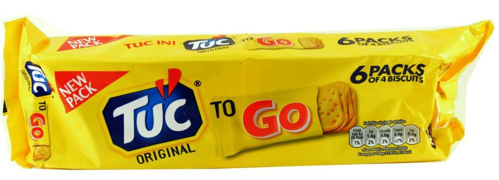 Tuc Original To Go 6 Packs Of 4 Biscuits