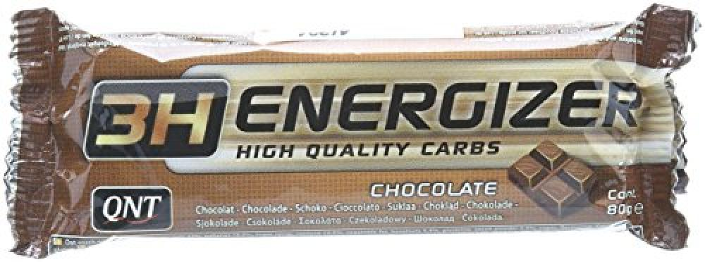 QNT 3H Energizer 80 g Chocolate Carbohydrate Energy Bar