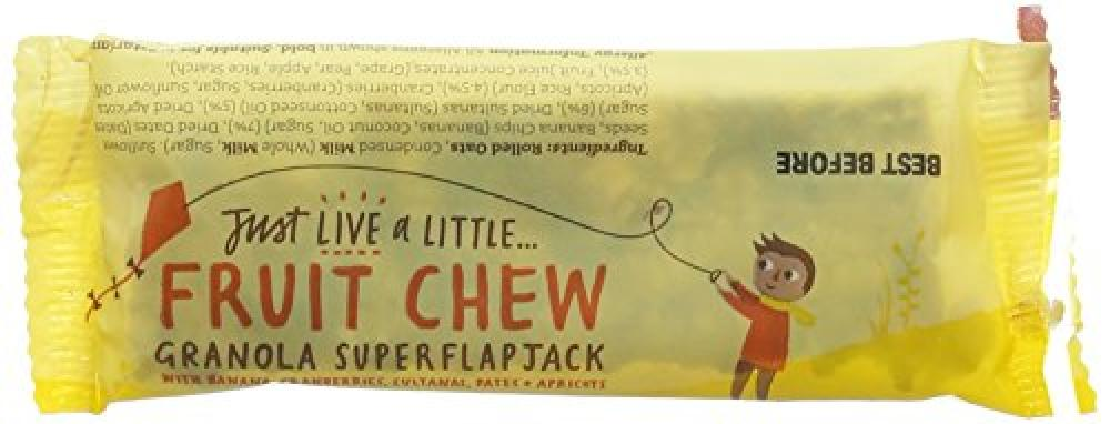 Just Live a Little Fruit Chew Bar 45 g