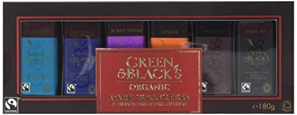 Green and Blacks Dark Miniature Collection Boxed Chocolate 180 g