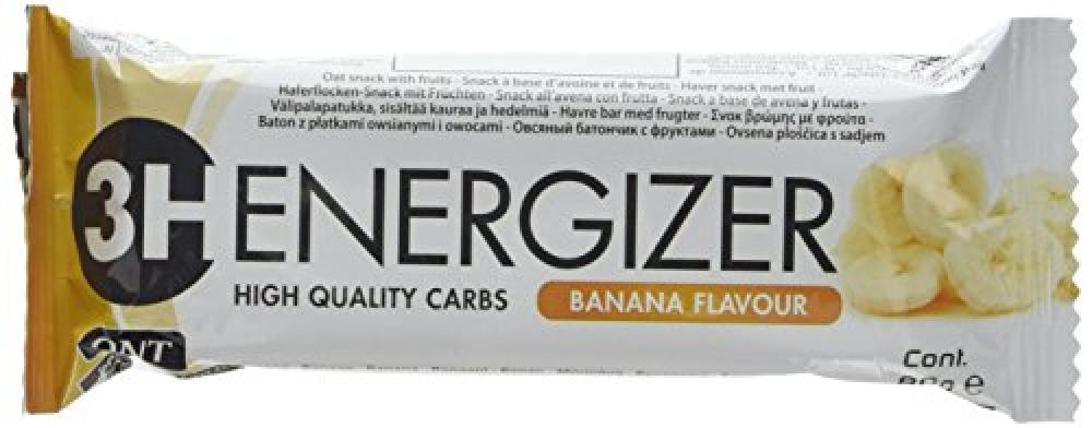 QNT Energizer Banana Carbohydrate Energy Bar 80g