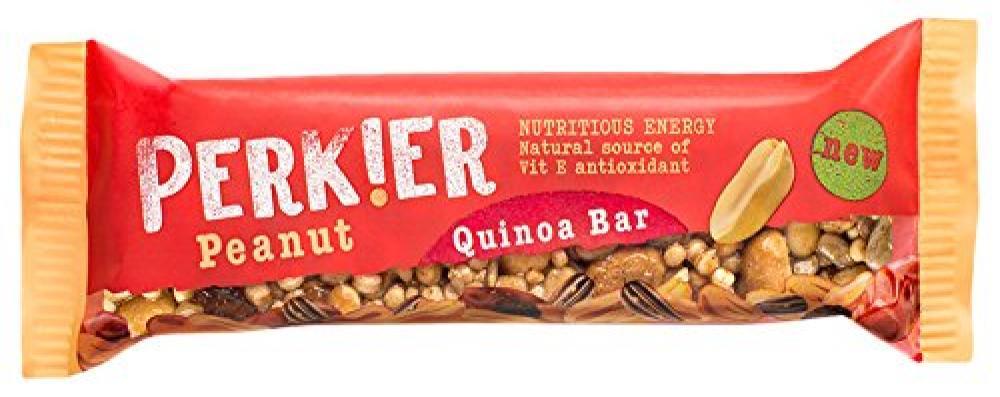 Perkier Peanut Quinoa Bar 35g