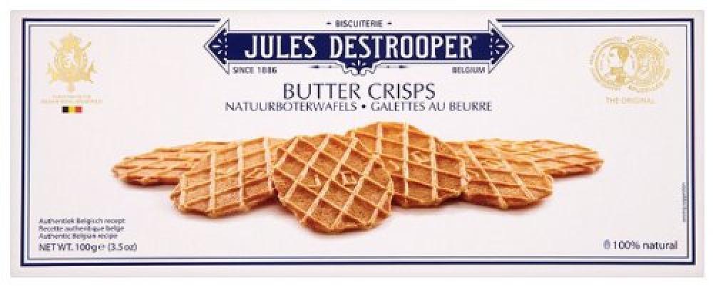 Jules Destrooper Butter Crisps 100 g