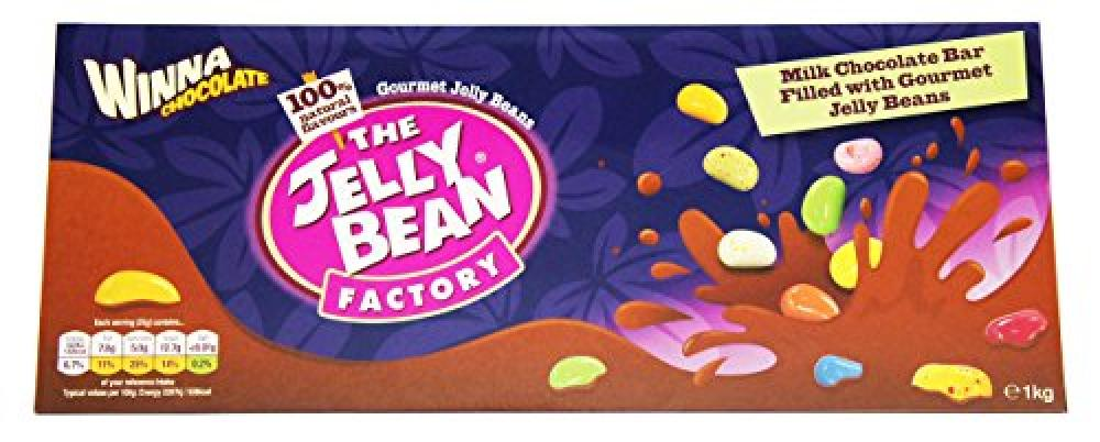 FURTHER REDUCTION  The Jelly Bean Factory Chocolate 1 Kg