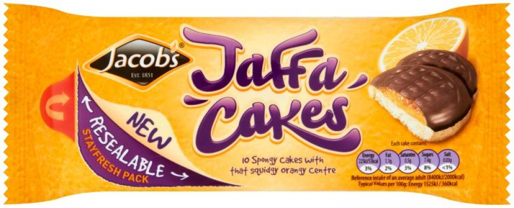 Jacobs Jaffa Cakes 147g 147g