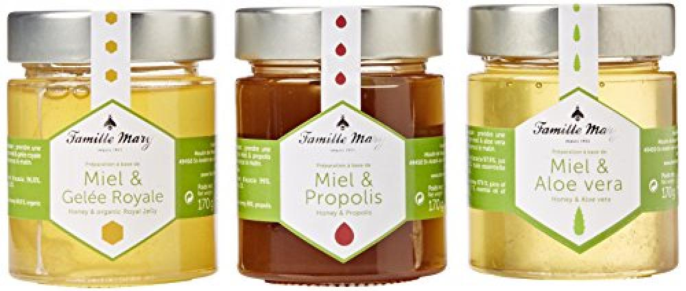 Famille Mary 3 Well Being Honeys Assorted Set 170g