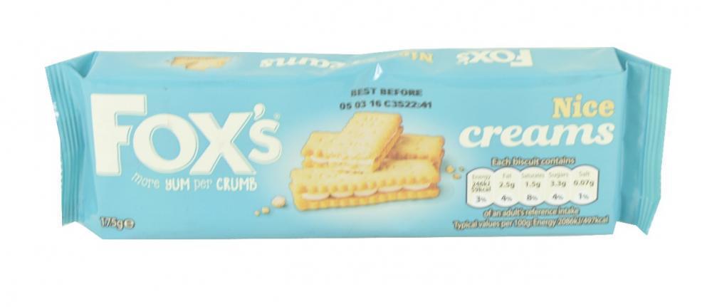 Foxs Nice Creams 175g 175g