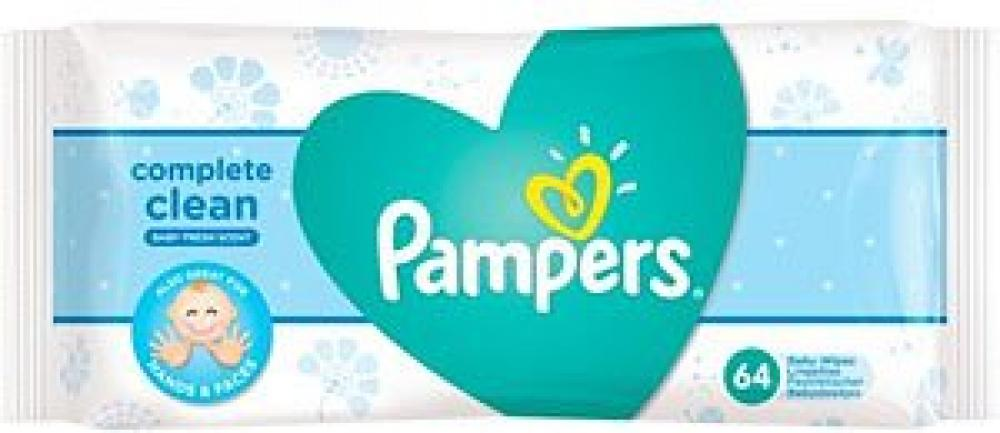 Pampers Complete Clean Baby 64Wipes