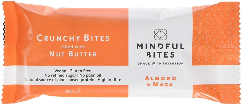Mindful Bites Crunchy Bites with Almond and Maca 25g