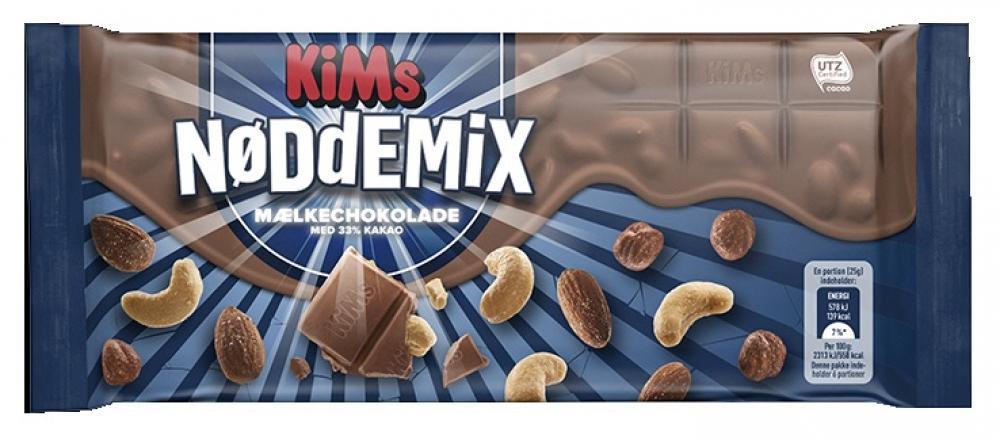 Kims Milk Chocolate and Mixed Peanuts 150g