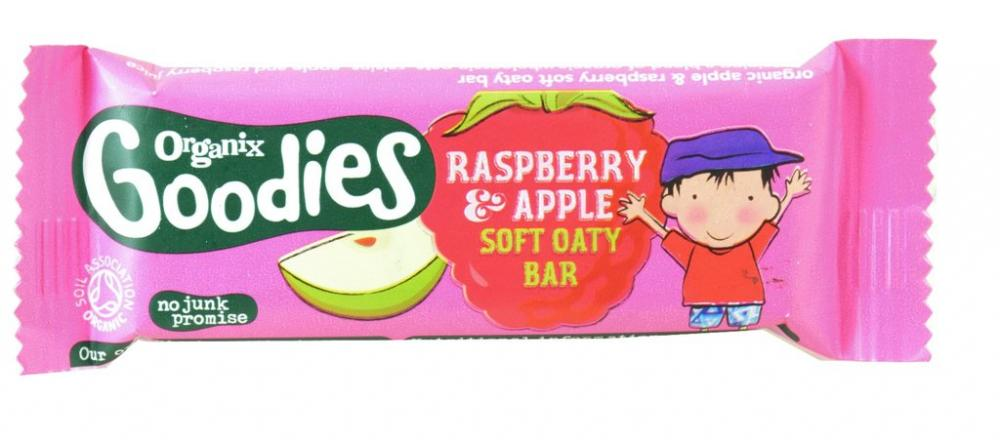 Organix Goodies Raspberry and Apple Soft Oaty Bar 30g