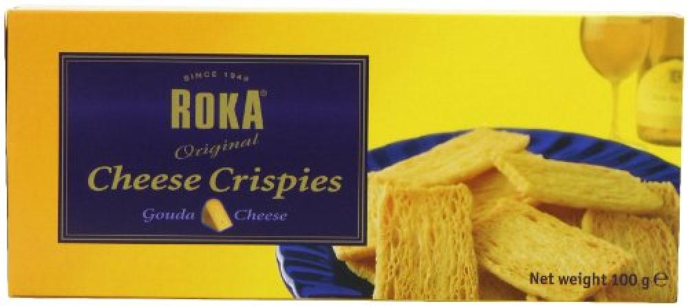 Roka Cheese Crispies Gouda Cheese 100g