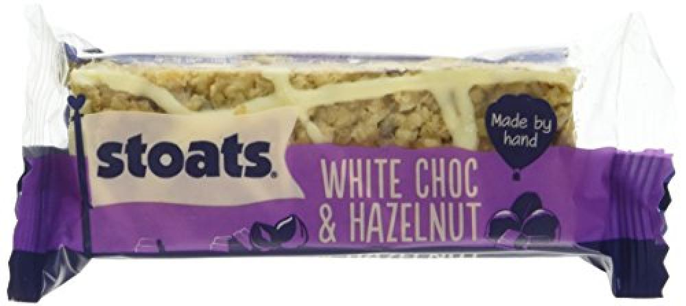 Stoats White Chocolate and Hazelnut Porridge Oat Bars 50 g