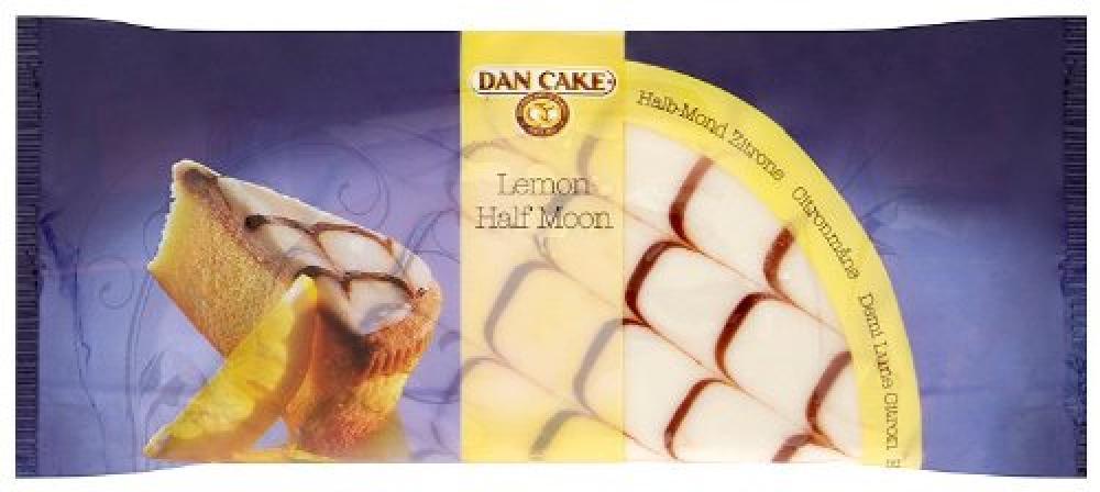 Dan Cake Lemon Half Moon 350 g