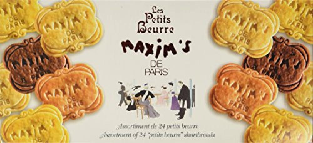 Maxims de Paris Petits Beurres 24 Assortment Shortbread 120 g