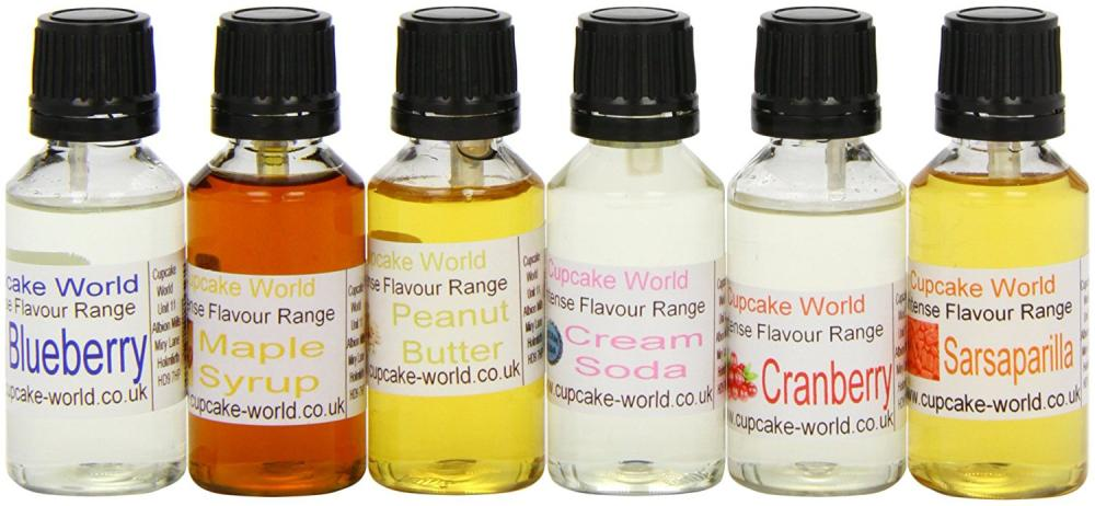 Cupcake World Intense Food Flavourings American Dream Pack 28.5 ml (Pack of 1Total 6 Flavours)