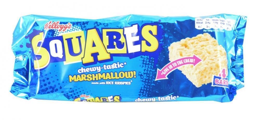 Kelloggs Squares Marshmallow 20g x 4