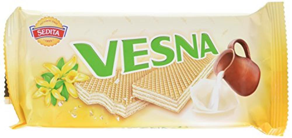 Sedita Vesna Vanilla Wafers 50g