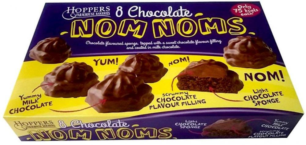 Hoppers Farmhouse Bakeries 8 Chocolate Nom Noms