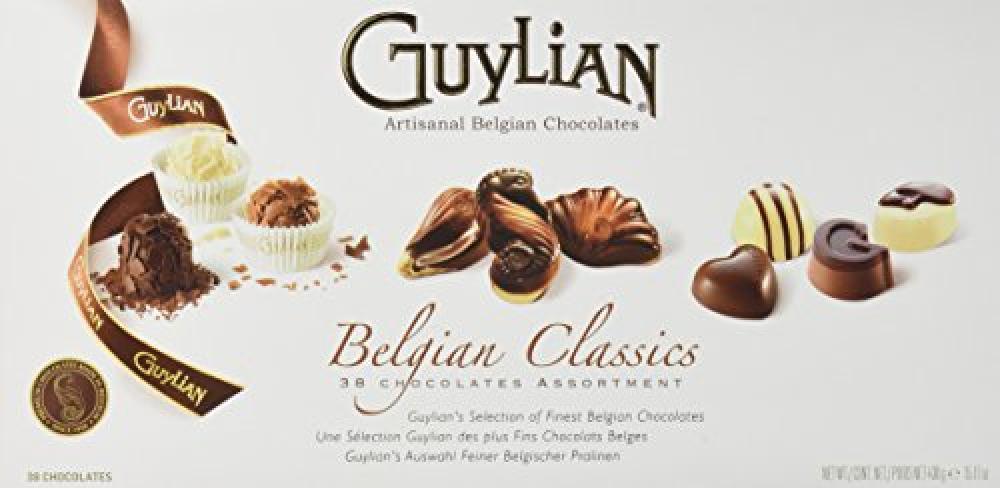 Guylian Belgian Classics 38 Chocolate Assortment Gift Box 430g